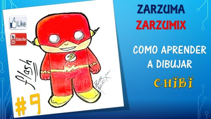 aqui aprenderas a dibujar facil y rapido a flash chibi