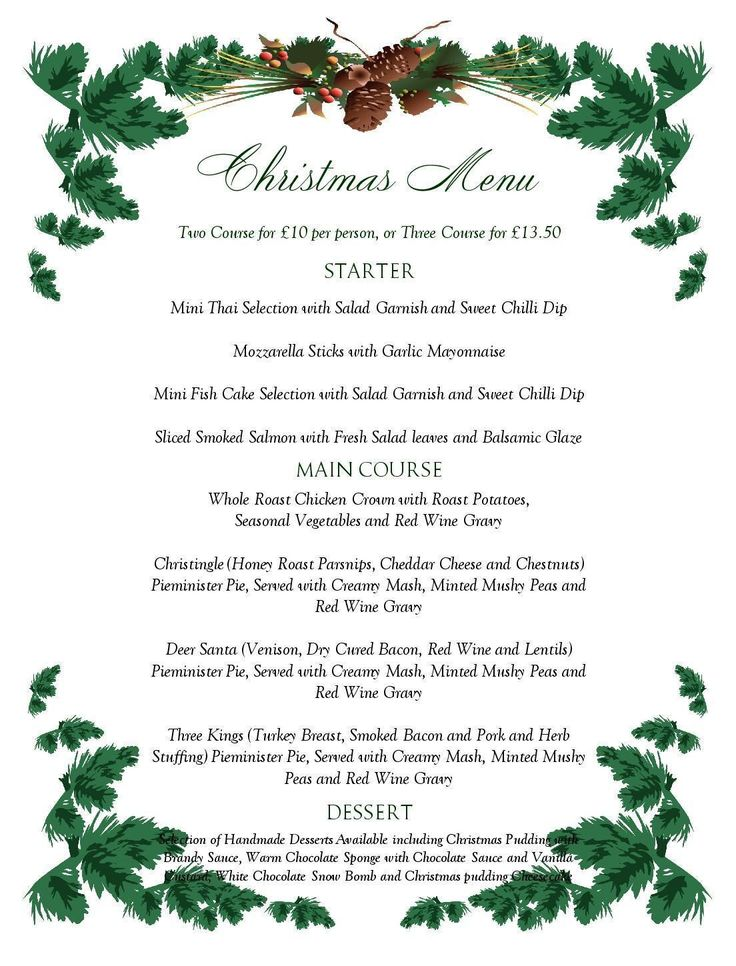 Best 25+ Free printable menu template ideas on Pinterest - christmas menu word template