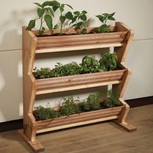 3 Tier Vertical Garden Planter, Wood