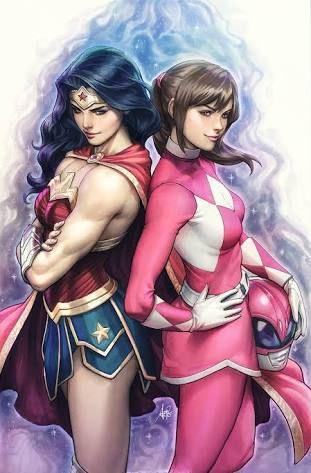 Bildergebnis für power rangers league of justice comic