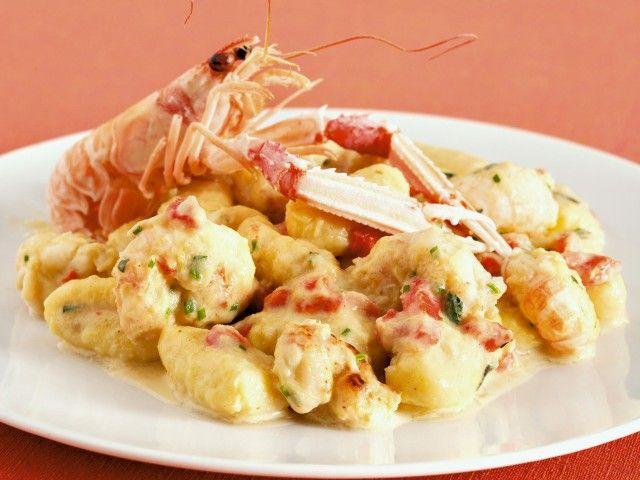 Ricetta gnoccheti di patate con scampi e porro | SalePepe