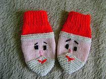 rękawiczki mikołajki