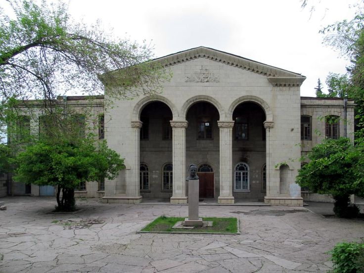 The State Drama Theater (1932) in Stepanakert, Republic of Nagorno Karabakh, is named for Soviet Armenian actor Vahram Papazyan .