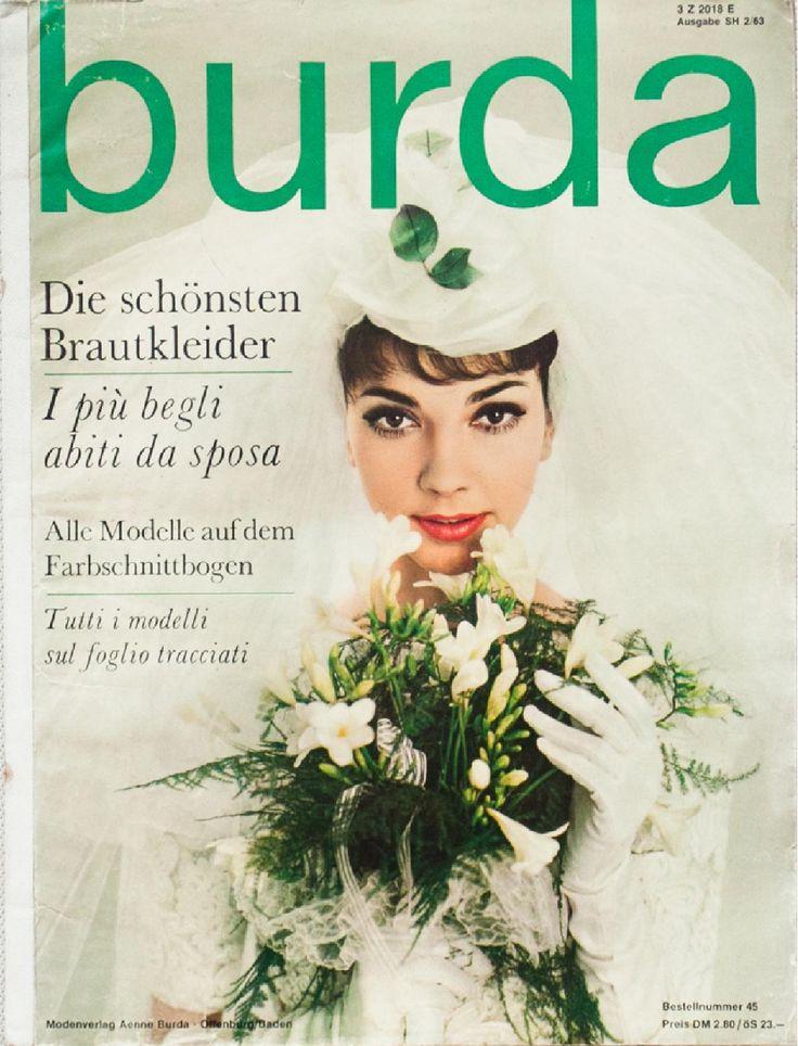 Burda Brautkleider 2/63  A vintage sewing pattern magazine from my collection. Full scan.