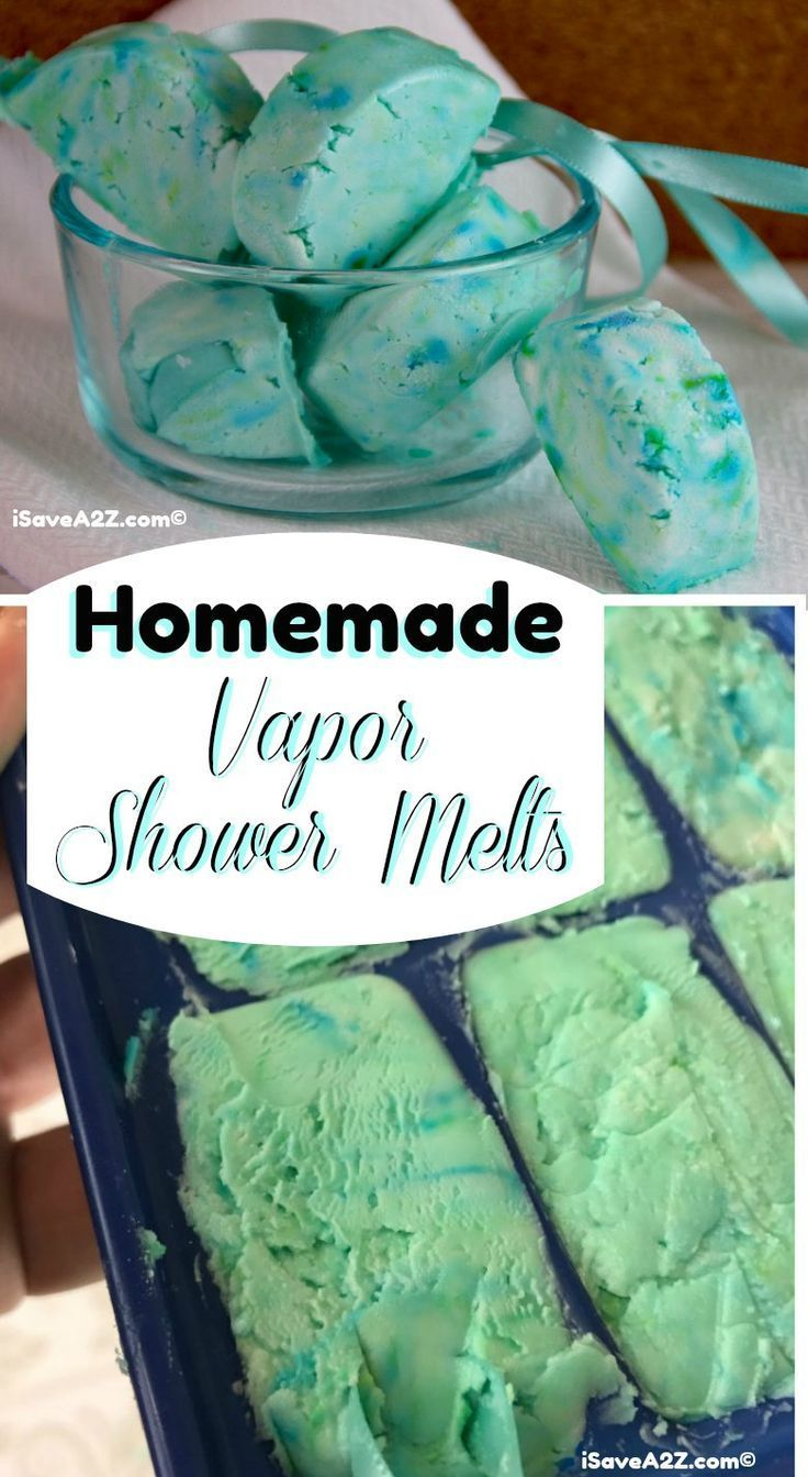 Homemade Shower Melts Recipe Using Vapor Rub Emily
