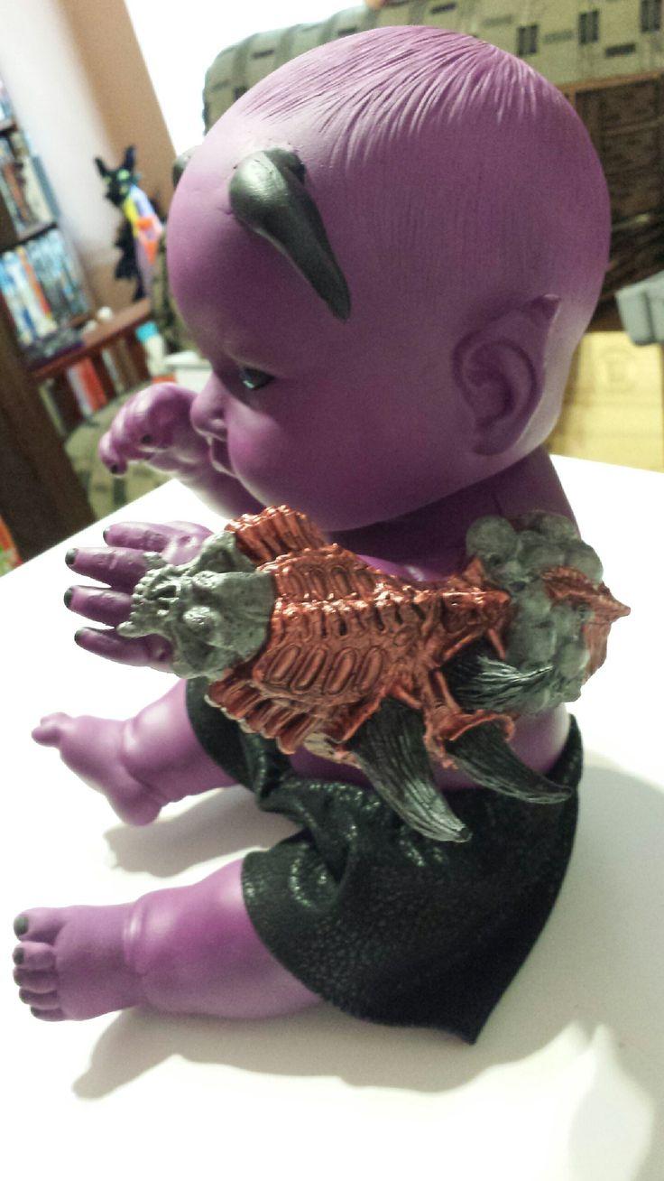 """Creepy Crawlies doll """"Abraxas"""" Creepy dolls for sale"""