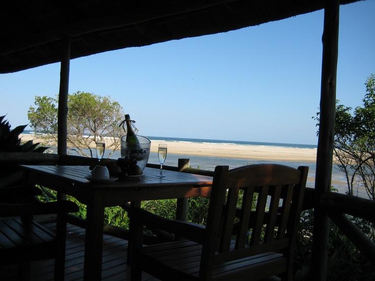 Champagne Breakfast, Transkei, SA :)