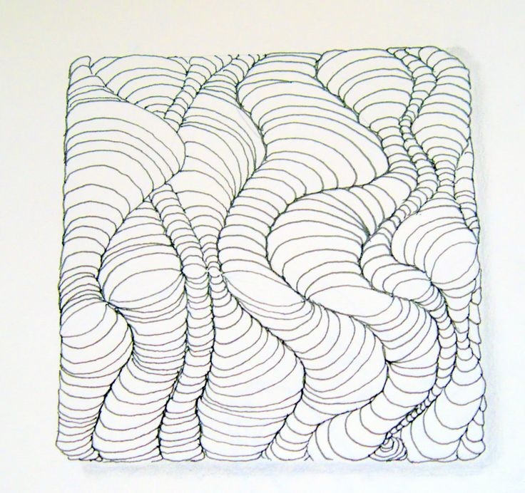 Easy Zentangle Designs Step By Step You can see instructions