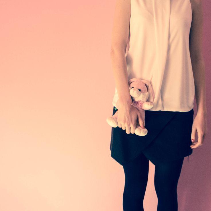 skirt and tank top_ tramedinchiostro