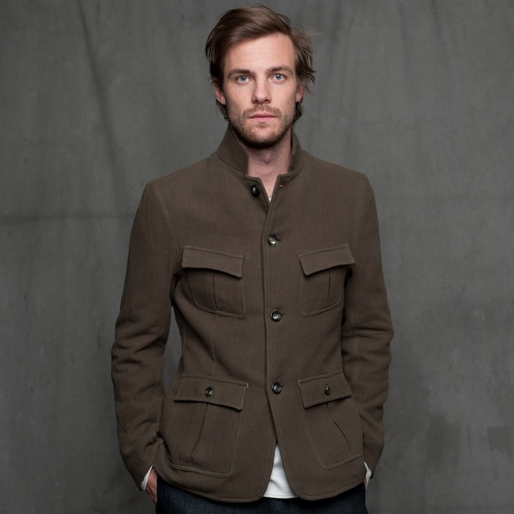 The Tripper Coat | Olive by 18 Waits.