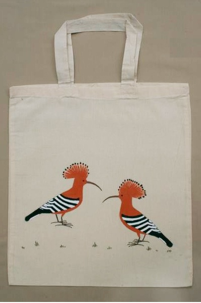 Tote Bag - Hoopoe by VIDA VIDA