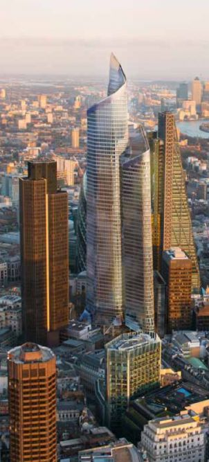 The rise of London's skyline – more than 230 new towers planned By Phyllis Richardson April 13, 2014 The Pinnacle, Kohn Pedersen Fox (Image: Hayes Davidson for NLA)