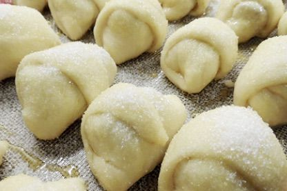Como hacer sacramentos rellenos de dulce de membrillo