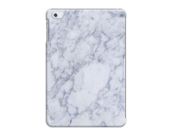 déguisé blanc & gris marbre effet modèle housse - iPad Air - Mini iPad - iPad 2 3 4