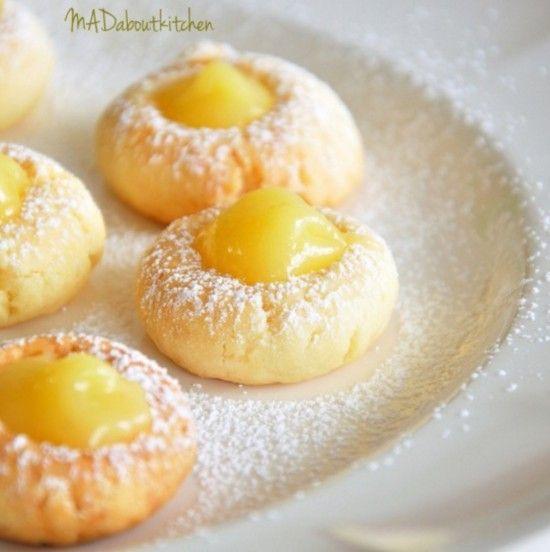 Lemon Curd Cookies Are Like Nana Used To Make