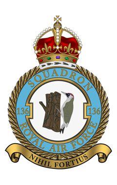 Royal Air Force - 136 Squadron
