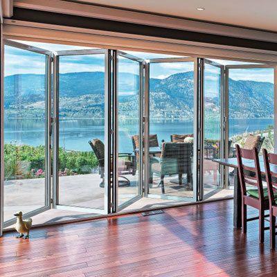 Sunflex : Baies vitrées pliantes à triple vitrage, SF 75 | batiproduitsmaison.com | Mon Habitat Vert | Scoop.it