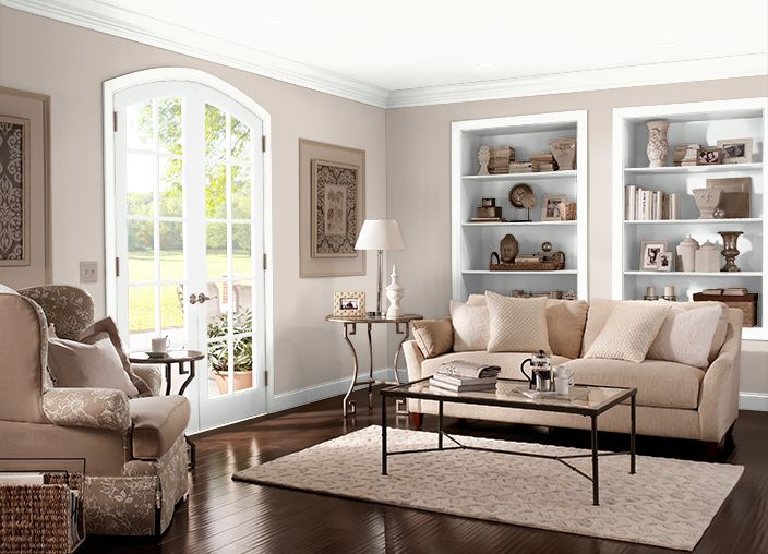 This is the project I created on Behr.com. I used these colors: CASTLE BEIGE(N230-1),SMOKEY CREAM(N190-1),MELTING MOMENT(S430-1),OPAL SILK(PPU12-08),SEED PEARL(M210-1),CAPPUCCINO FROTH(N210-2),OLD MAP(N230-2),ULTRA PURE WHITE®(PR-W15),