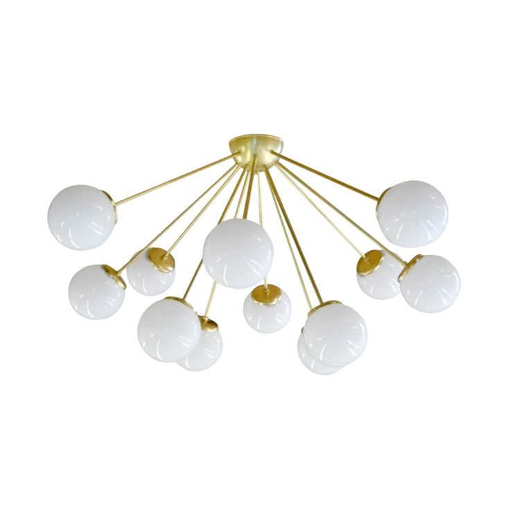 A sleek and sophisticated Sputnik-style lighting fixture, the Glittering Galaxy Chandelier will elevate an entryway or dining area with its ultra-modern silhouette. This chic chandelier is handmade fro... Find the Glittering Galaxy Chandelier, as seen in the Seasonally Styled by Stephanie Collection at http://dotandbo.com/collections/seasonally-styled-by-stephanie?utm_source=pinterest&utm_medium=organic&db_sku=106826