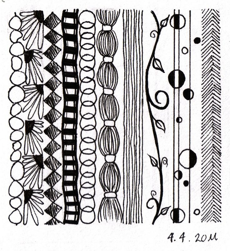 D Line Drawings Ideas : Doodle borders zentangles and doodling pinterest