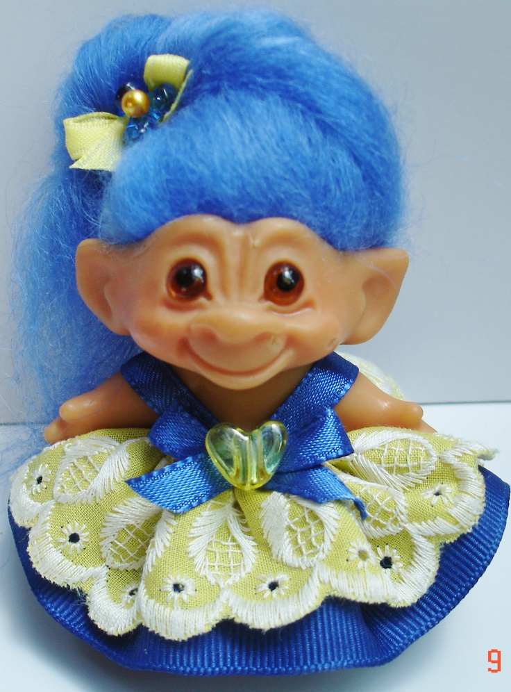 I still have a troll doll collection.