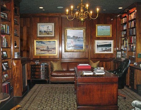 Library Office Room Design