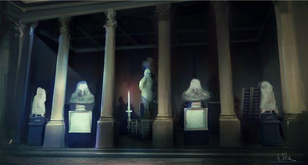 Il Convitato di Pietra by Giovanni Silva, via Behance