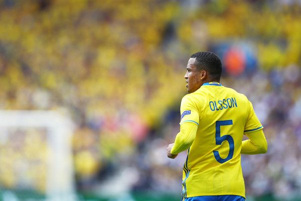 Martin Olsson of Sweden looks on during the UEFA EURO 2016 Group E match between Italy and Sweden at Stadium Municipal on June 17, 2016 in Toulouse, France.