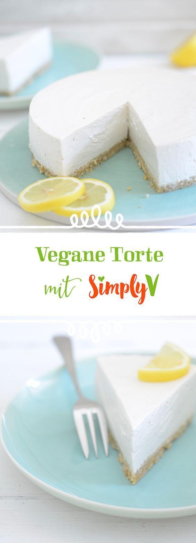 Zitrone frisch und einfach lecker ist unser Simply V-Kuchen mit einer …