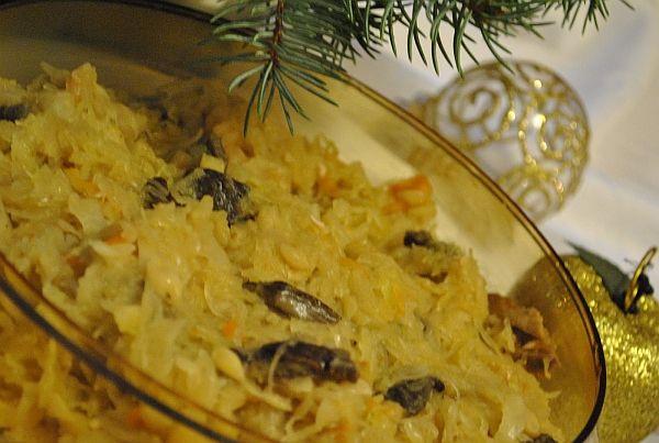 Przepis na kapustę z grochem - zdecydowanie świąteczna potrawa ! ;)