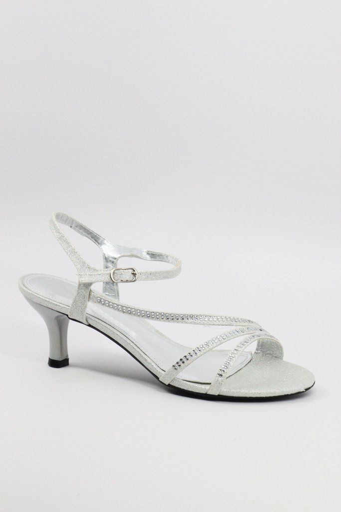 f54a5bd9aa8 Prom Shoes Silver (Style 200-49)