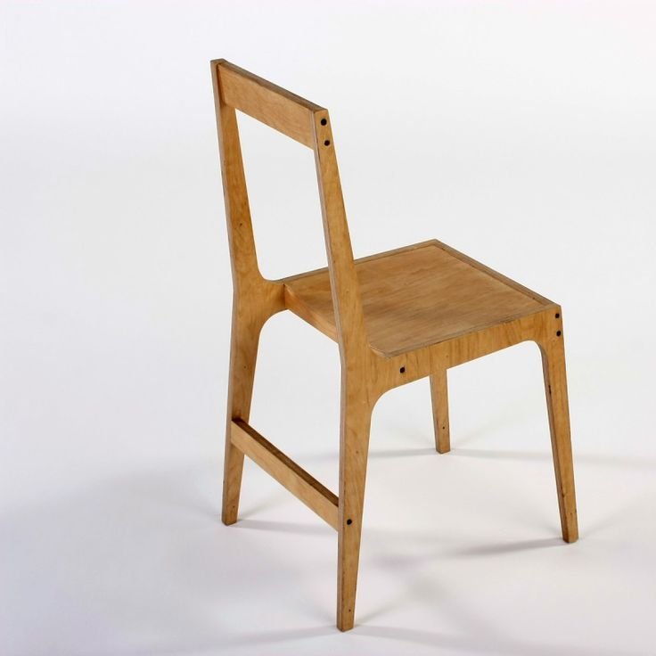 Captivating Alex Hellum: Vic Open Back Plywood Chair