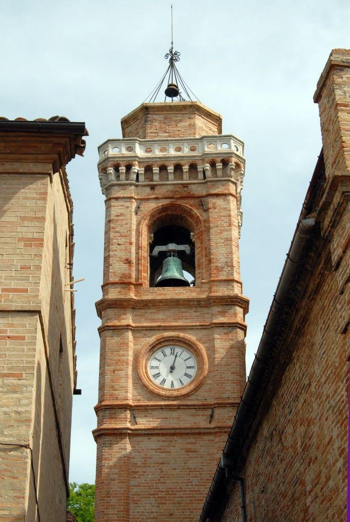 Chiesa e campanile di S Biagio #marcafermana #montevidoncombatte #fermo #marche