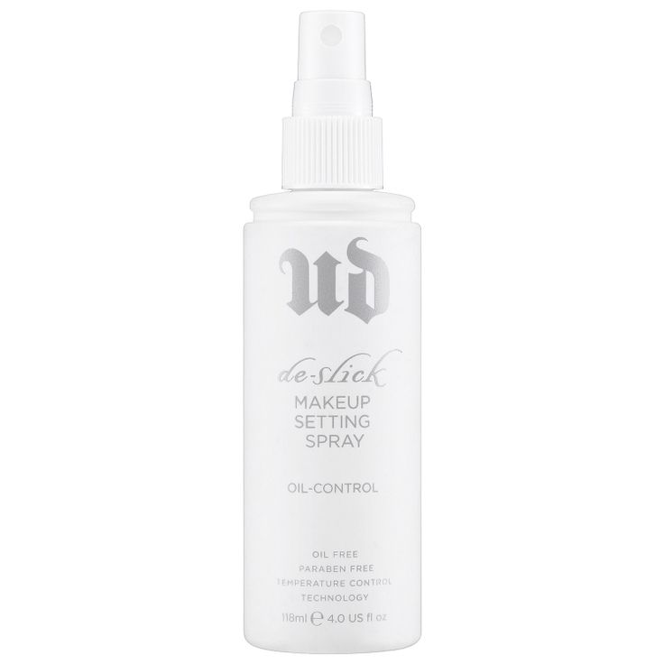 Urban Decay De-Slick Oil-Control Makeup Setting Spray: Shine Control & Blotting   Sephora