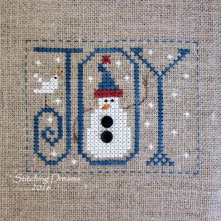 Snowmen, Sheep, and Something Slightly Strange! (Stitching Dreams)