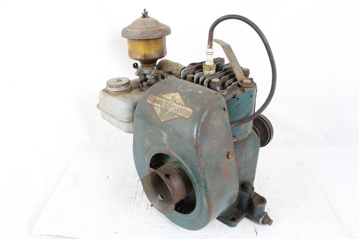 Vintage Briggs Stratton 5S Engine Clutch V-Plex Antique Old Rare 1940s 50s Motor | eBay