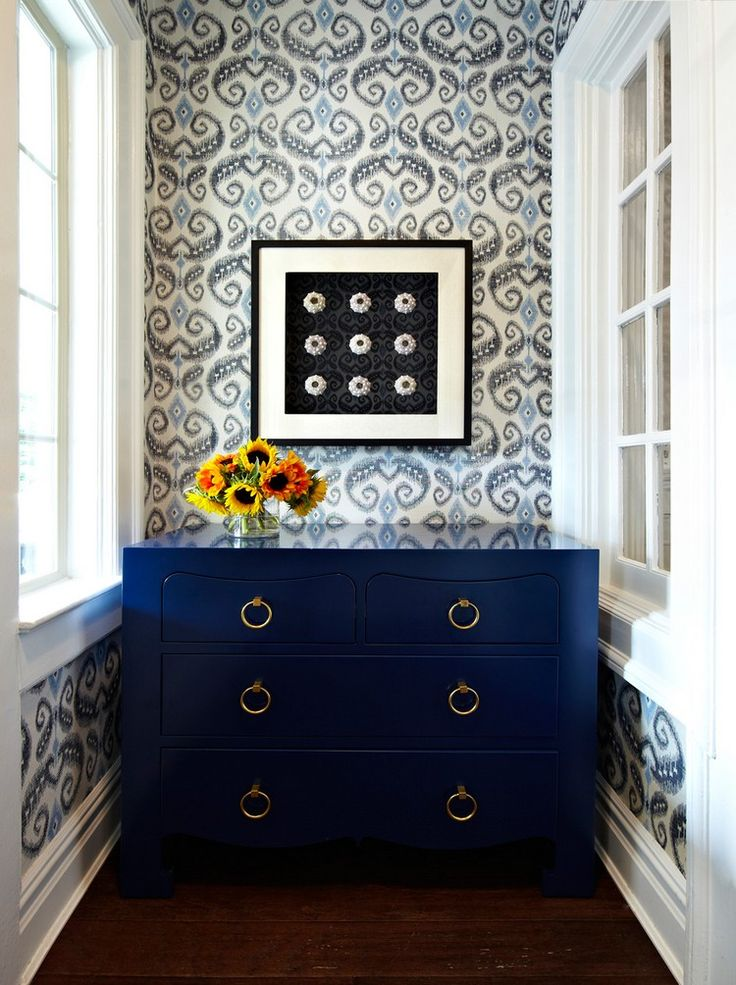 Navy Blue Buffets And Cabinets For This Spring