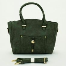 Belle Import Bag, stylish. Good quality. Bisa tenteng dan tali panjang selempang. Warna hijau. Uk 35x13x26