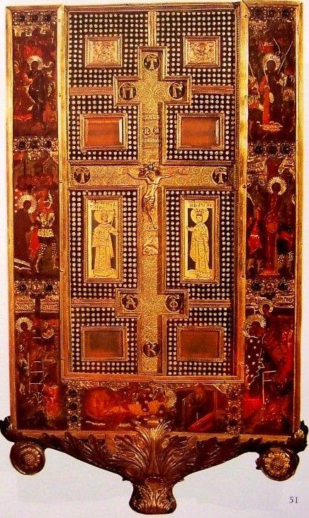 Besszárion kardinális relikviáriuma, 1403-73 (Velence, Gallerie dell'Accademia)