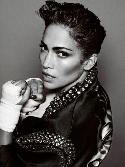 boxing. fitness. health.   jennifer lopez by mario testino for V magazine #76.