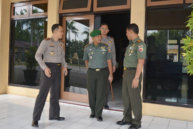 Danrem 081/DSJ Silaturahmi ke Pemkab dan Polres Nganjuk - BeritaLima