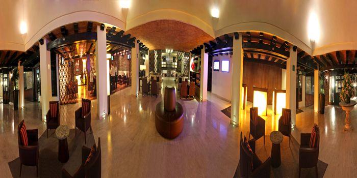 foto 360° Lobby del Hotel Marriott Puebla