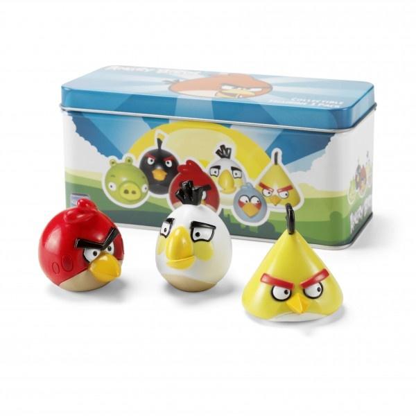 Angry Birds - Figurine Set Red, White & Yellow Bird