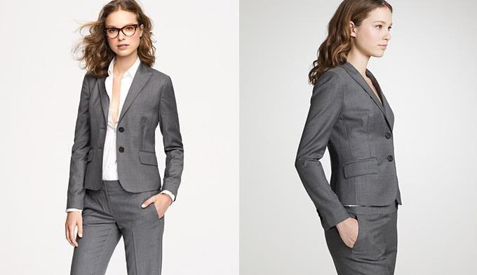 Где купить серый женский пиджак
