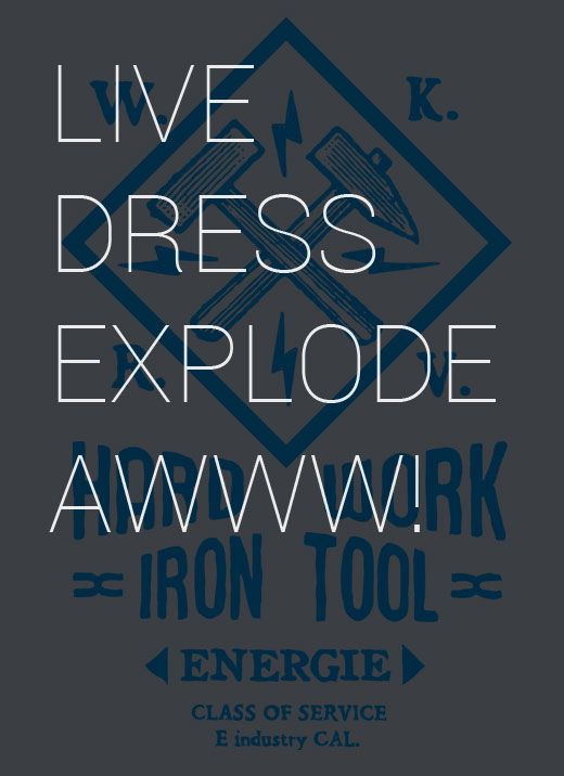 """live dress explode awww"" Working Heroes - #Energie #denim #fw14 #collection #man www.energie.it"