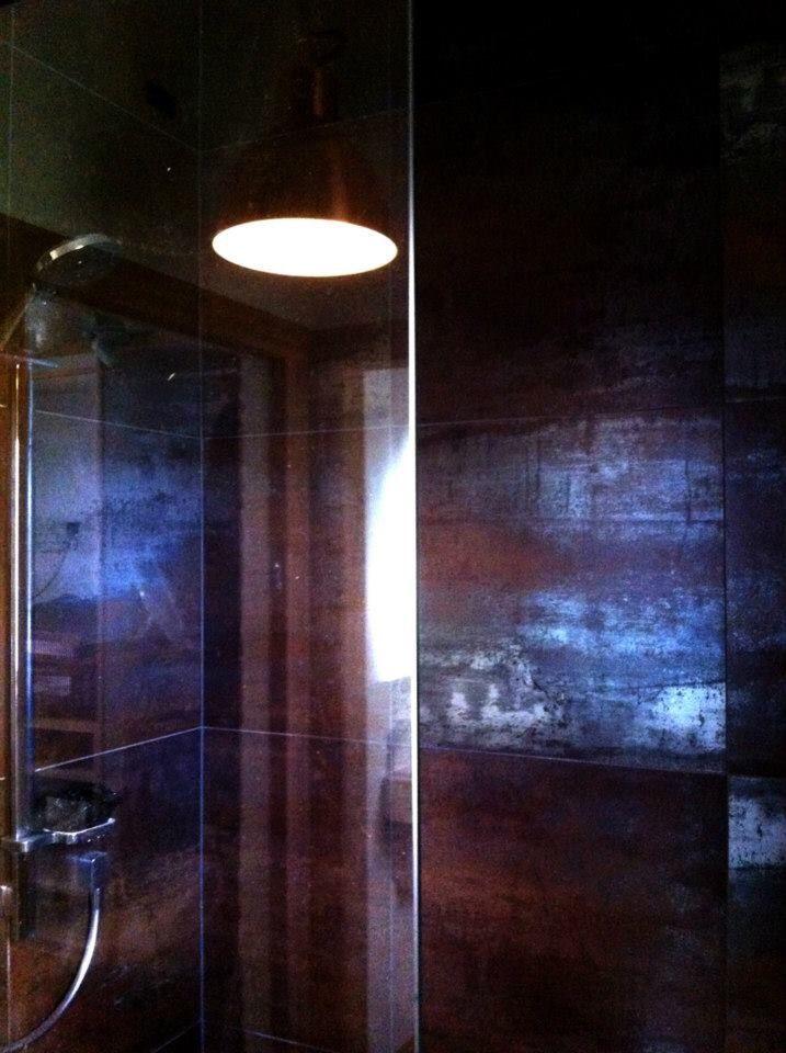 Copper industrial tiles
