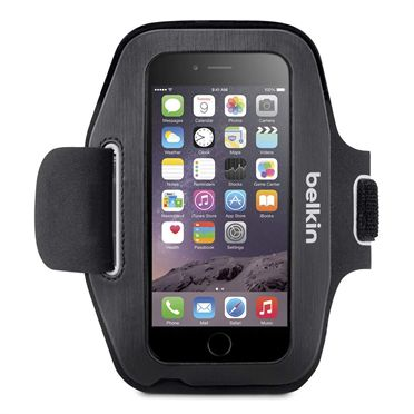 Sport-Fit Armband for iPhone 6 - Blacktop/Overcast -  HeroImage