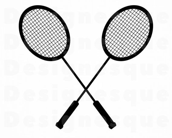 Badminton Logo Svg Badminton Svg Badminton Clipart Etsy Badminton Logo Badminton Svg