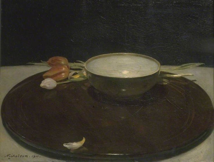 Sir William Nicholson The Lowestoft Bowl