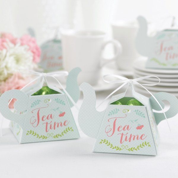 Tea Time Favor Box